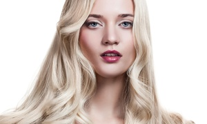 Salon LeChene: Haircut Package with Scalp Massage and Optional Glaze and Halo Highlights at Salon LeChene (Up to 52% Off)
