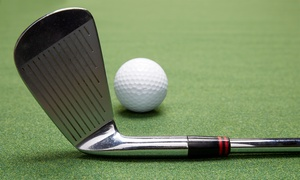 Golfer's Paradise: Golf-Practice Package for One or Two with Range Balls and Drinks at Golfer's Paradise (Up to 47% Off)