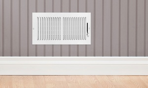 V Clean: Air-Duct Cleaning for 7 or Unlimited Vents with Furnace Inspection and Mold Test from V Clean (Up to 84% Off)