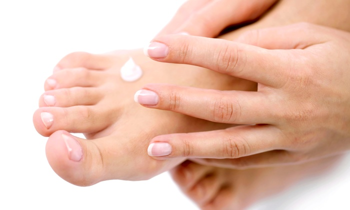 Divine Appointment Salon-Spa-Wellness - Concord: One or Two Spa Mani-Pedis with Foot-Detox Treatments at Divine Appointment Salon-Spa-Wellness (Up to 60% Off)