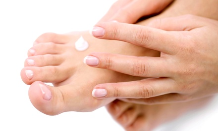 One or Two Spa Mani-Pedis with Foot-Detox Treatments at Divine Appointment Salon-Spa-Wellness (Up to 61% Off)