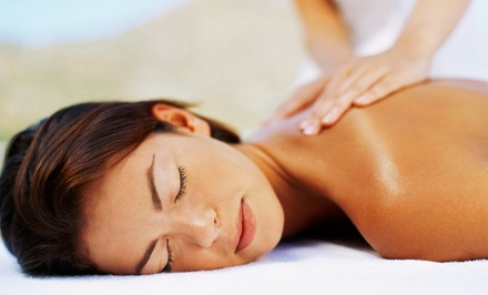 Hot-Oil Massage and Stress-Relief Head Massage, or Couples Massage Package at Mantra Beauty Bar (Up to 52% Off)