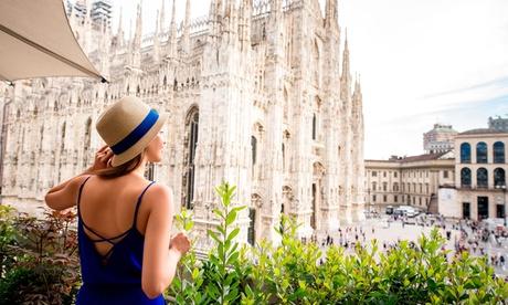 ✈Milán, Venecia, Florencia y Roma: 7 noches con vuelo de ida y vuelta, desayuno y traslado entre ciudades para 1 persona