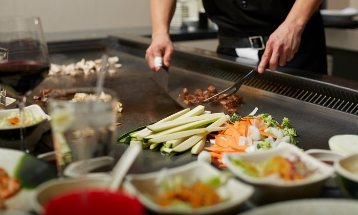 Soo Woo Japanese & Korean Steakhouse - Flamingo / Lummus: Meal and Drinks for Two or Hibachi Meal for Eight at Soo Woo Japanese & Korean Steakhouse (Up to 50% Off)