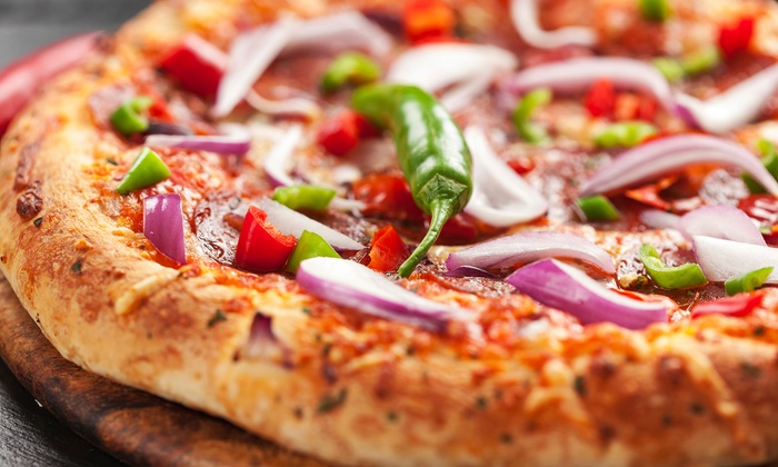 Mountain Mike's Pizza - Multiple Locations: $19 for a Large Pizza, Garlic Sticks, and Soft Drinks for Two at Mountain Mike's Pizza ($31.68 Value)