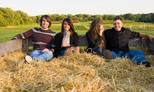 Johnston Fruit Farms: Orchard Hayride for Four or Six at Johnston Fruit Farms (Up to 33% Off)