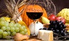 55% Off Wine, Wineglasses, and Chocolate