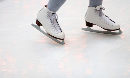 Indoor Ice Skating with Skate Rental for Two, Four, or Six at Hommocks Park Ice Rink (Up to 65% Off)