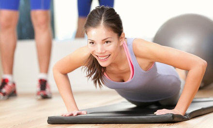 $55 for One-Month Gym Membership at Greco Lean and Fit ($109 Value)