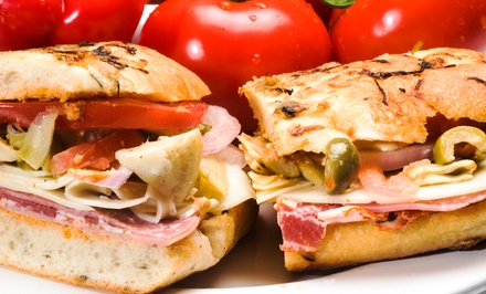 $12 for Two Groupons, Each Good for $10 Worth of Subs at Rock N' Jenny's Italian Subs ($20 Total Value)
