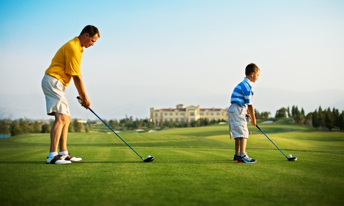 Inland Golf Academy - Riverside: Three or Five Junior or Adult Lessons at Inland Golf Academy (Up to 53% Off)
