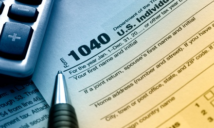 $75 for $200 Worth of Tax-Preparation Services at Jackson Hewitt Tax Service