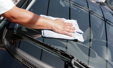 One Wash with Optional Oil Change and Wax at Lodi Hand Wash & Mobil 1 Lube Express (Up to 49% Off)