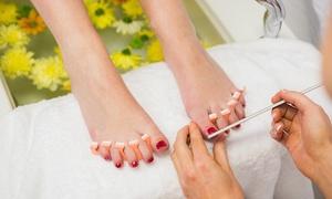Beauté et Détente : Beauté des pieds avec pose de vernis semi-permanent à 24,90 € à l'institut Beauté et Détente