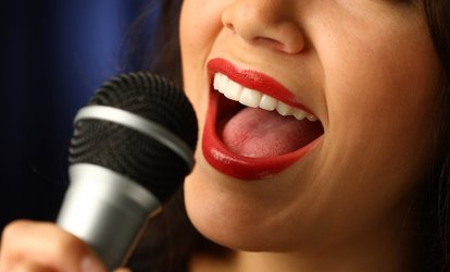 $27 for One 60-Minute Private Vocal-Training Lesson at Queen Vision Entertainment ($60 Value)