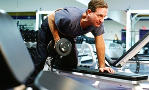 Faith Gym & Inspire Fitness Center: Personal Training or 1-Month Membership for 1 or 2 People at Faith Gym & Inspire Fitness Center (Up to 70% Off)