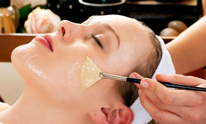 Eyetopia Spa: Specialty Facial and Back Packages at Eyetopia Spa at Sandy Springs (Up to 69% Off). Four Options Available.
