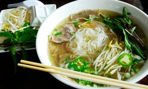 Cafe Su: $12 for $20 Worth of Asian Food and Drinks at Cafe Su
