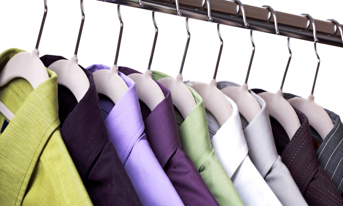 Jim Hannah's Cleaners & Shirt Laundry - Multiple Locations: Dry Cleaning from Jim Hannah's Cleaners and Friends (45% Off). Four Options Available.