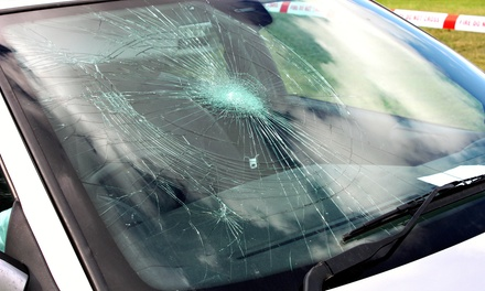 $19.95 for $100 Toward Windshield Replacement and $25 Gas Card at Windshield Guys Inc