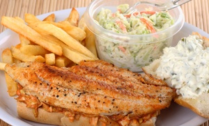 Fish Place Houston: $16 for $25 Worth of Cajun Seafood and Drinks at Fish Place Houston (36% Off)