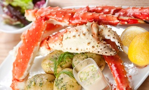 Cy's King Crab and Oyster Bar and Grill: $49 for $80 Worth of Seafood for Dinner at Cy's King Crab Oyster Bar & Grill