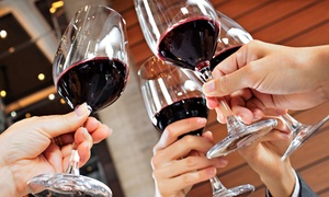 Cellar 433: Wine-and-Cheese Tasting for Two or Four with Take-Home Wine Glasses at Cellar 433 (Up to 56% Off)