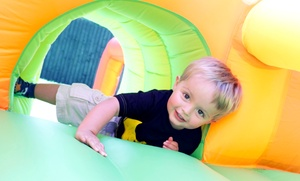 The Bounce House: Admission for Two or Five-Visit Pass to The Bounce House (Up to 52% Off). Four Options Available.