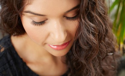 image for Partial or Full Set of Lash <strong>Extensions</strong> at Red Like Polish Salon (Up to 65% Off)