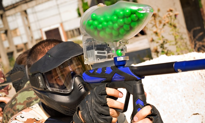 Strike First Paintball Arena - West Wheatfield: Paintball Package Including Gear Rental for One, Two, or Four at Strike First Paintball Arena (Up to 56% Off)