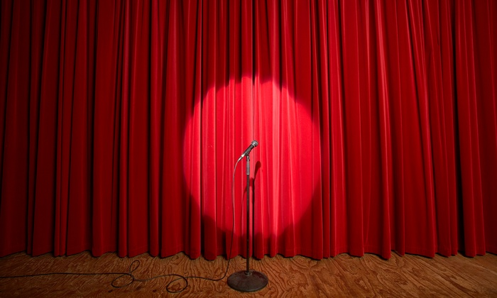 EastVille Comedy Club - Eastville Comedy Club: Any Regular Standup Show with Popcorn for Two or Four at EastVille Comedy Club Through August 29 (Up to 77% Off)