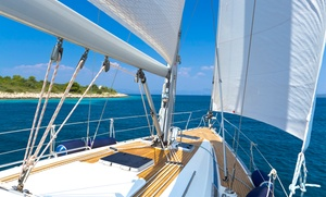 Asd Calipso: Corso primo livello di barca a vela e uscita in mare di 8 ore per una, 2 o 4 persone con Asd Calipso (sconto fino a 83%)