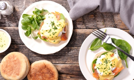 Breakfast or Lunch + Wine or Coffee: 1 ($12.50), 2 ($25) or 4 Ppl ($49) @ North Forty Two Eatery and Coffee (Up to $130)