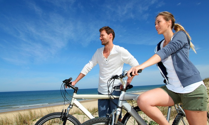 JoyRide Rental - Fort Lauderdale: 90-Minute or Eight-Hour Bike Rental with Six Bikes and Souvenir Water Bottles (Up to 45% Off)