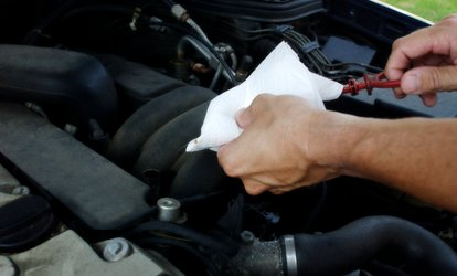 image for Semi-Synthetic <strong>Oil-Change</strong> Package or Full Synthetic <strong>Oil Change</strong> Package at Auto Plus (Up to 54% Off)