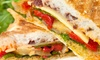 Denny Oasis Cafe - Seattle: Cafe Sandwiches, Drinks, and More at Denny Oasis Cafe (Up to 43% Off). Two Options Available.