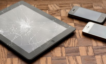 image for iPhone or iPad Screen <strong>Repair</strong> at Good Luck Communication (Up to 79% Off)