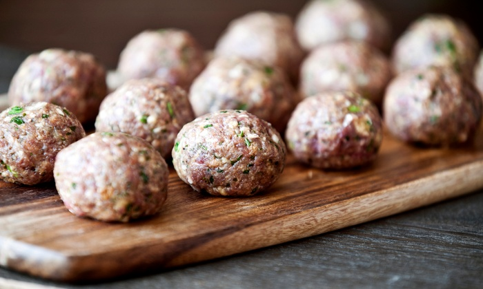 Jersey Meatball Company - North Bergen: $12 for $20 Worth of Meatballs and Italian Food for Two at Jersey Meatball Company