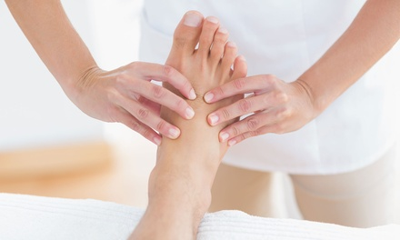 75-Minute Reflexology Treatment at Diamonds of Hutton (46% Off)