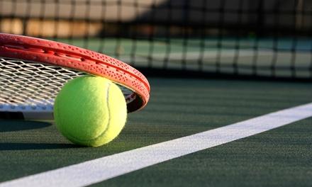 Lezioni di tennis con istruttore