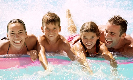 Four Weekday Passes to Atlantis Waterpark in Bull Run Regional Park (Up to 38% Off). Two Options Available.