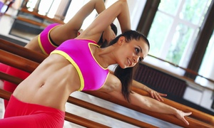b. barre: 5 or 10 Classes or One Month of Unlimited Classes at b. barre (Up to 60% Off)