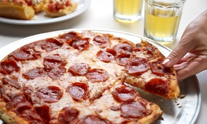 Ember Woodfired Pizza & Grill: Dinner with Drinks for Two or Four at Ember Woodfired Pizza & Grill (Up to 37% Off)
