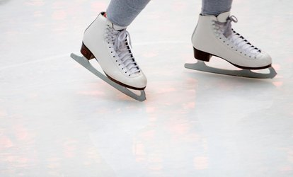 image for Open Skate with Skate Rental for Two or Four or Ice-Skating Lessons at Midwest Training and Ice Center (50% Off)