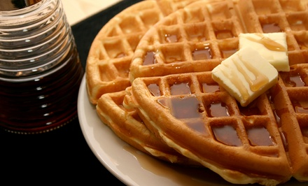 Breakfast at Laddie Lake Pub (43% Off). Two Options Available.