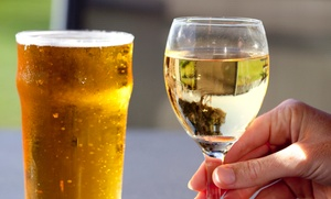 Arundel Cellars & Brewing Co.: Wine and Beer Tasting with Souvenir Glasses for Two or Four at Arundel Cellars and Brewing Co. (Up to 50% Off)