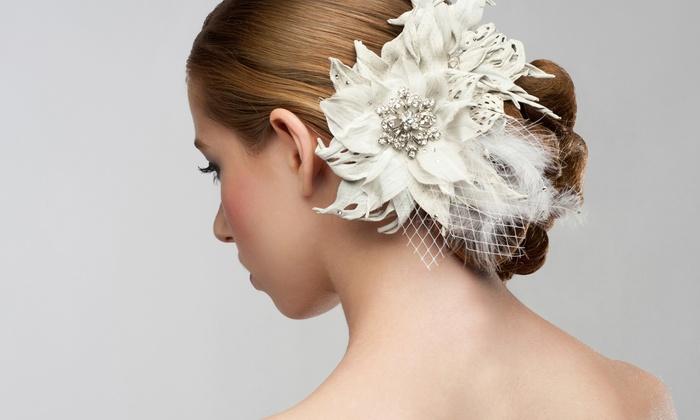 Leeda of Northshore Hair studio - Leeda of Northshore Hair studio: Bridal Updos from Leeda of Northshore Hair Studio (Up to 70% Off). Three Options Available.