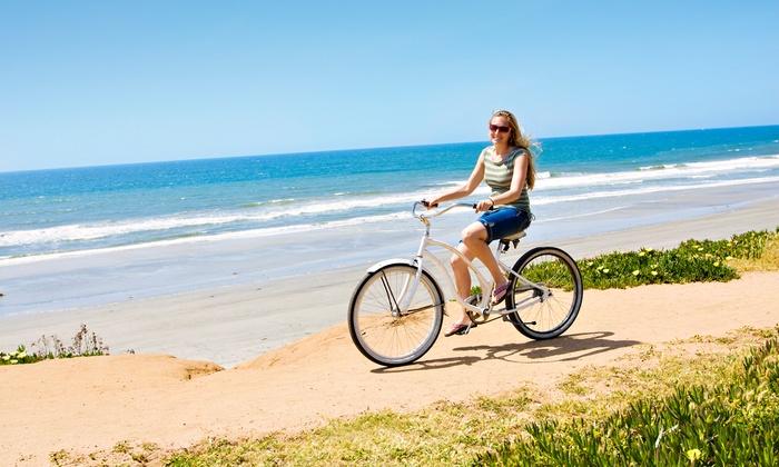 Balboa Fun Tours - Balboa Fun Tours: All-Day Beach Cruiser Rental for One or Two at Balboa Fun Tours (Up to 58% Off)