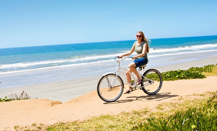 All-Day Beach Cruiser Rental for One or Two at Balboa Fun Tours (Up to 58% Off)