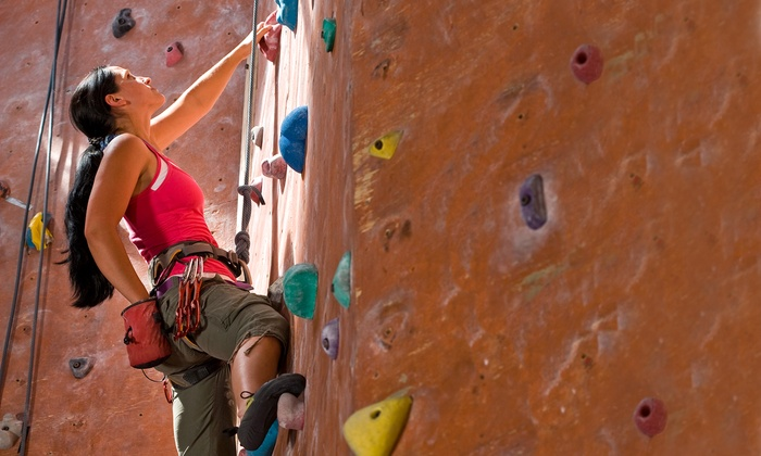 Kendall Cliffs - Boston: Rock-Climbing Package for Family of Six or Package for Two with Intro Lesson at Kendall Cliffs (Up to 76% Off)